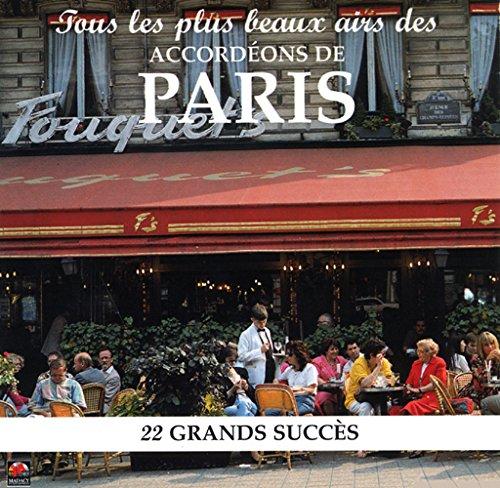 CD Accordéons \'\'Les Airs De Paris\'\'