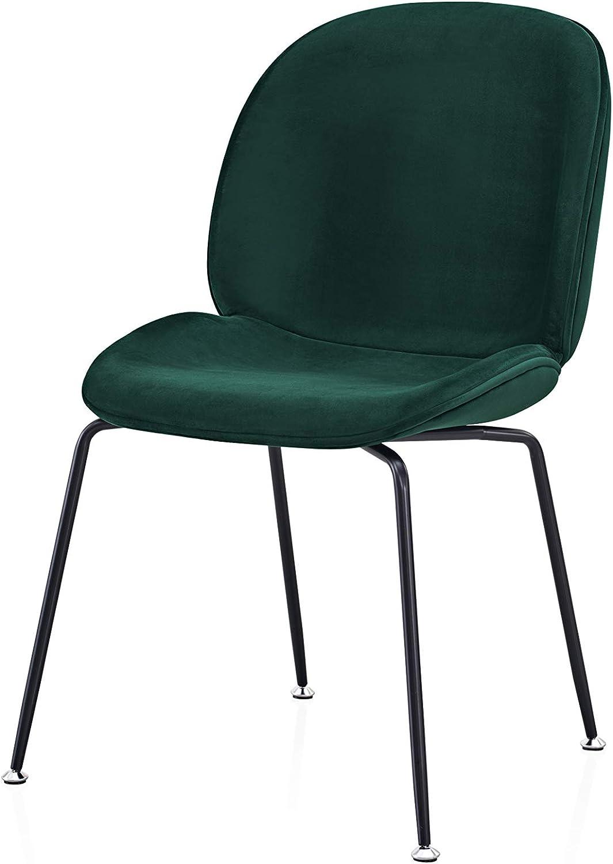Esszimmerstuhl Esszimmerst/ühle Grau Auch ideal als Schminktisch Stuhl /& Samtstuhl Esszimmerst/ühle Samt Samtstuhl Orville Brando Samt Designer Esstisch Stuhl stilvolle und einfache Montage