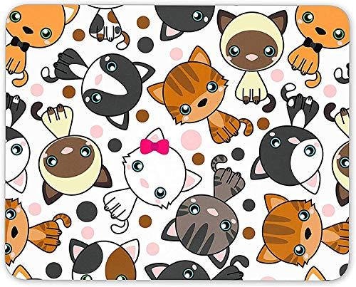Rae Esthe Cute Cats Mouse Mat Pad - Cat Kitten Mum Sister Kids Fun Gift PC para computadora