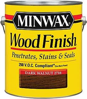 Minwax 1-Gallon Dark Walnut 2716 Stain 250 VOC Oil Based Interior Stain