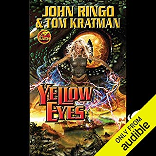 Yellow Eyes     Legacy of the Aldenata              By:                                                                                                                                 John Ringo,                                                                                        Tom Kratman                               Narrated by:                                                                                                                                 Marc Vietor                      Length: 23 hrs and 22 mins     453 ratings     Overall 4.4
