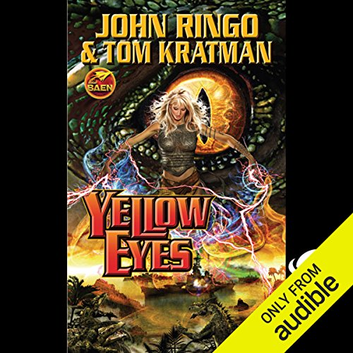 Yellow Eyes audiobook cover art