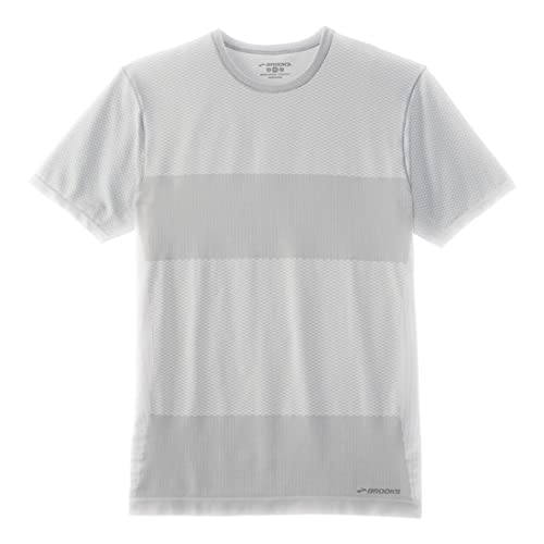 9754910b044 Brooks Mens Streaker Short Sleeve Shirt