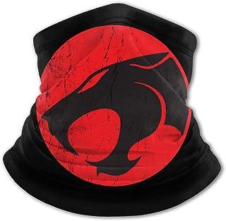 Thunder Logo - Pasamontañas para niños con protección UV para el cuello, resistente al viento, multifunción, para niños y ...