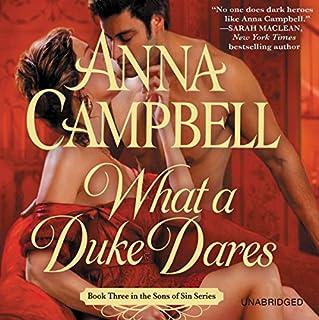 What a Duke Dares audiobook cover art