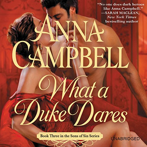 What a Duke Dares audiobook cover art