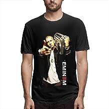 E-Mine-M,Funny Mens Short-Sleeved T-Shirt Black