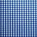 Staab's Beschichtete Baumwolle Bauernkaro blau weiß