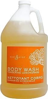 Tangerine Lemongrass Body Wash Spa Massage Salon Scented- Gallon Bottles (1 Gallon)
