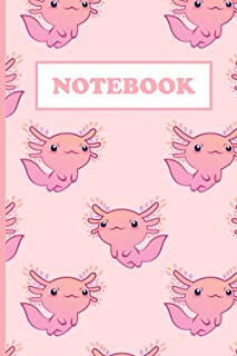 """Composition Notebook: Cute Axolotl Wide Ruled Paper Notebook Journal 