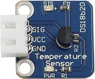 SunFounder DS18B20 Sensor de Temperatura Digital para Arduino y Raspberry Pi con Cable Antirretroceso