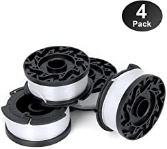 """YWTESCH Line String Trimmer Replacement Spool, 30ft 0.065"""" Autofeed String Trimmer Line Replacement Spool for Black+Decker String Trimmers (Pack of 4/30ft)"""