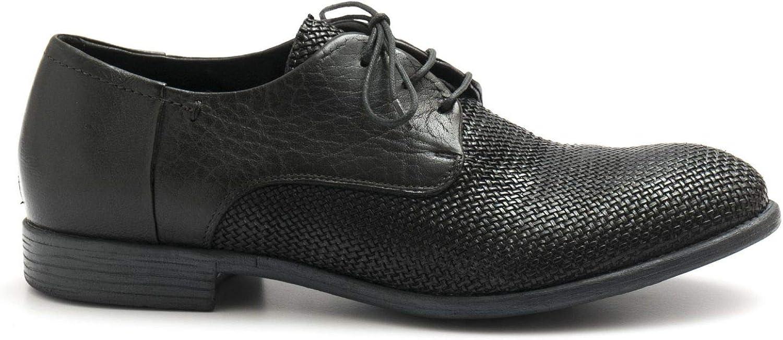 HUNDröd Dark grå 100 100 100 Derby skor in Woven läder 08727 INTRECIO Antracit  online försäljning