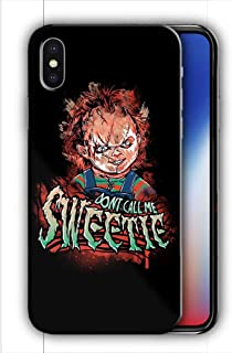 Hard Case Cover with Curse of Chucky Design Compatible with iPhone XR (hall12)