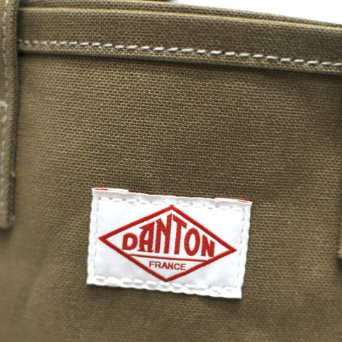 DANTON(ダントン)コットンキャンバス2WAYトートバッグ【JD-7100SCV】[正規取扱](ONE,BEIGE)