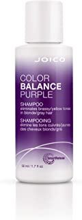Joico Color Balance Purple Shampoo | Eliminate Brassy and Yellow tones | Repair and Protect Color-Treated Hair | For Cool ...