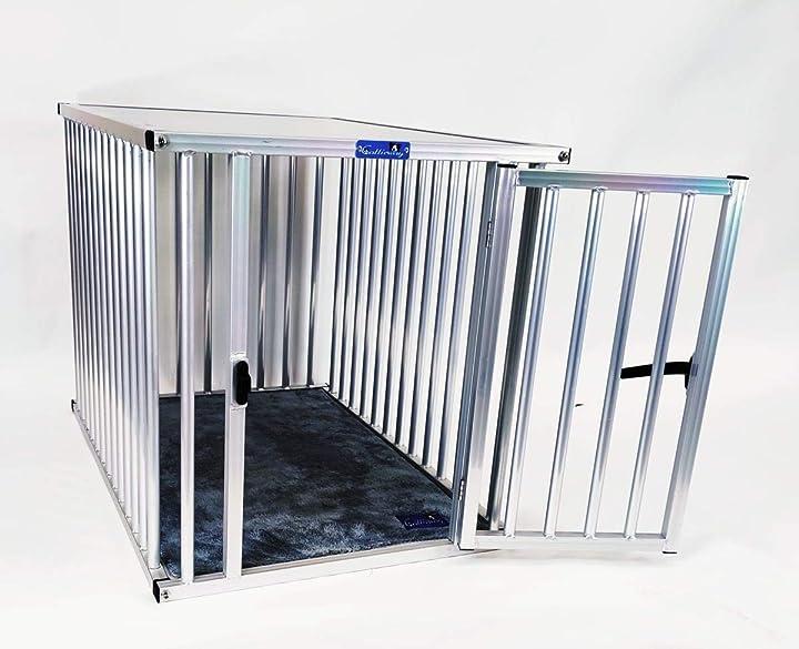"Gabbia per cani di alluminio pro"" (xl lxlxa:95x66x70 cm) callieway premium B07RTNFRLQ"