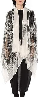 ミハイル ギニス アオヤマ MICHAIL GKINIS AOYAMA 着る ART ストール [登録意匠] 日本製 ハイテク ニット MADE IN TOKYO ギリシャ 大判 SILK HANDPAINT シルク ハンドペイント 1点モノ ブラック ホワイト black white