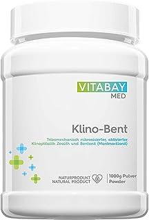 Klino-Bent DETOX Pulver ultrafin 1 000 g – Zeolith/Bentonit – avgiftning och tungmetallutredning