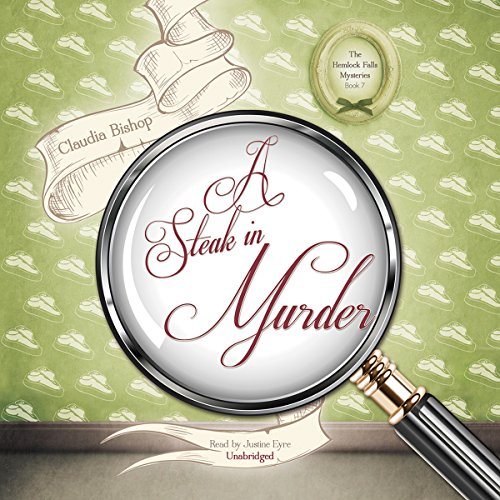 A Steak in Murder audiobook cover art