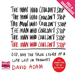 The Man Who Couldn't Stop audiobook cover art
