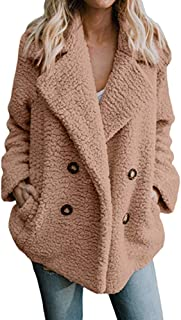 Kulywon long coats for women Women's Casual Jacket Winter Warm Parka Outwear Ladies Coat Overcoat Outercoat