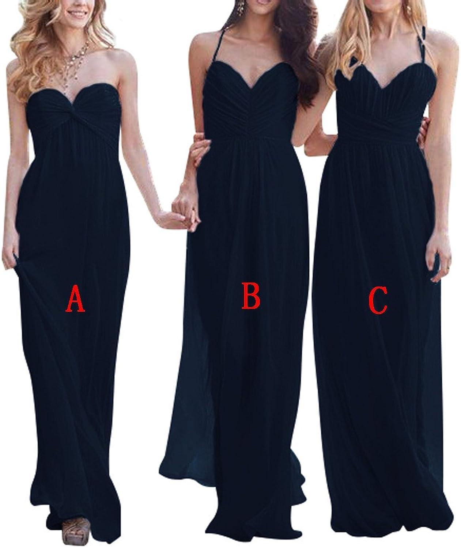 22114521d1ab YanLian Women's Floor Length Bridesmaid Formal Evening Dresses Prom Dress  YL098 XJLY Luxury Straps V Neck Beaded Bodice Open Back Mermaid Prom Dress
