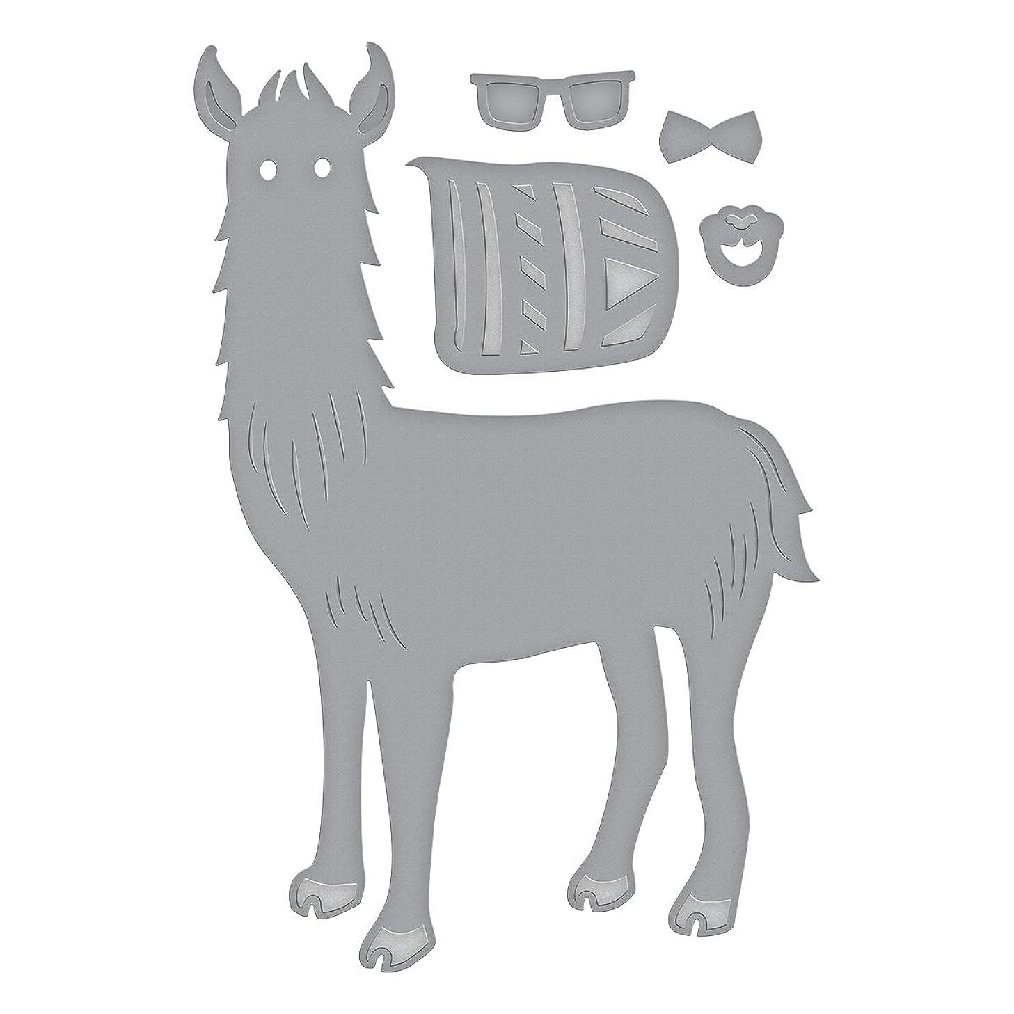 Spellbinders D-Lites Hip Llama Etched/Wafer Thin Die