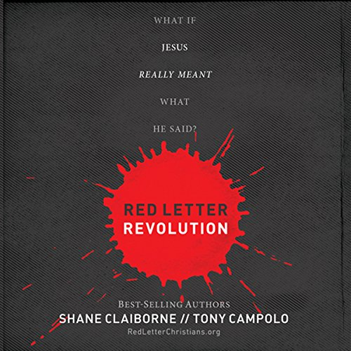 Red Letter Revolution audiobook cover art