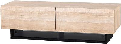 白井産業 大型 テレビ 台 32 から 50インチ対応 ログーノ LOG-3512GH NA ナチュラルブラウン 幅120cm