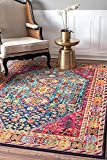 100% Polypropylene, made in Turkey Designed with resilience against everyday wear-and-tear, this rug is kid and pet friendly and perfect for high traffic areas of your home such as living room, dining room, kitchen, and hallways Sleek and functional ...