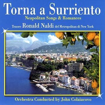 Torna A Surriento - Neapolitan Songs & Romances