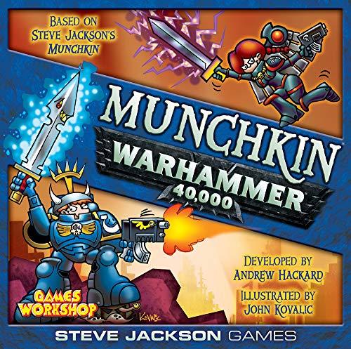 Steve Jackson Games SJG4481 Munchkin Warhammer 40000, Multicolor
