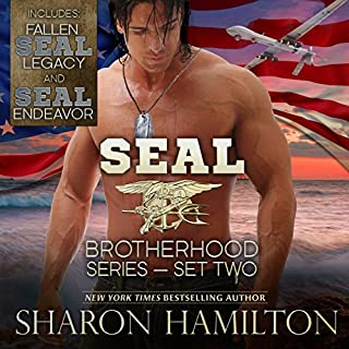 SEAL Brotherhood Boxed Set No. 2                   By:                                                                                                                                 Sharon Hamilton                               Narrated by:                                                                                                                                 J.D. Hart                      Length: 12 hrs and 37 mins     11 ratings     Overall 5.0