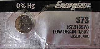 (1) une energizer 373 sR916W sB-aJ montre oxyde d'argent sous blister 1,55 v sous blister