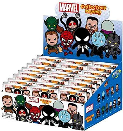 Marvel 3D Figural Keychain Marvel Series 5 Mini Figure Keyring Mystery Box (Monogram)