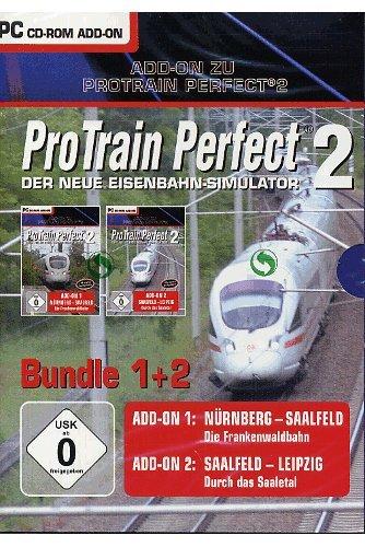 Pro Train Perfect - Add-On 1&2: Nürnberg - Saalfeld / Saalfeld - Leipzig