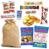 SACCO della BEFANA + DOLCI Cioccolato e Caramelle per calza della Befana - Epifania Kinder Haribo Chupa Chups Lecca Lecca Lindt