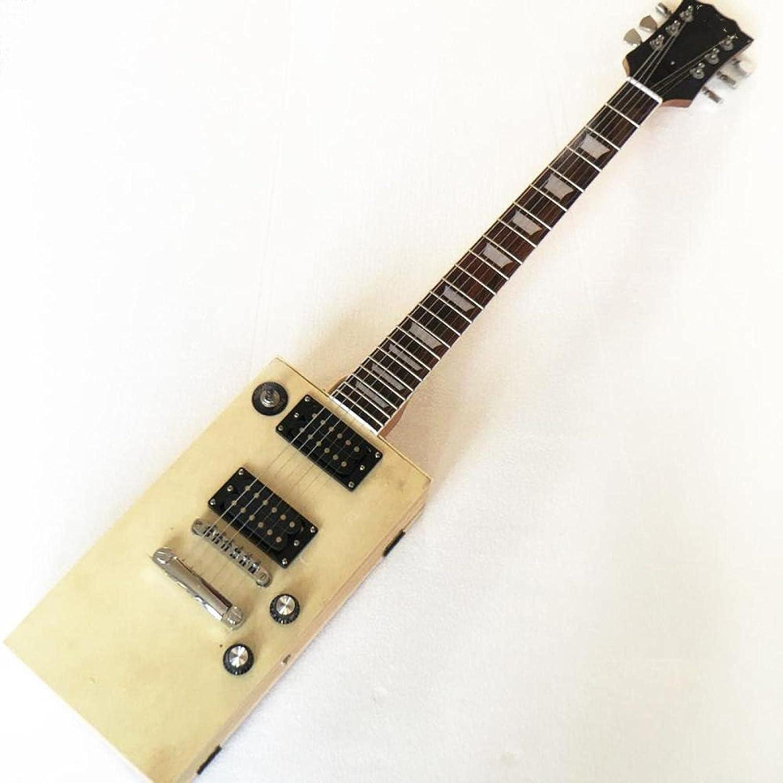 KEPOHK Guitarra eléctrica de caja profesional
