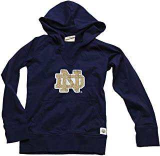 Wes and Willy Notre Dame Girl's Jersey Hoodie