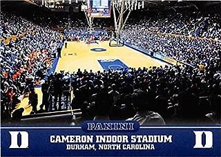 Cameron Indoor Stadium basketball card (Duke Blue Devils) 2015 Panini Team Collection #7
