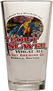 Trout Slayer Pint Glass | Set of 2 Glasses