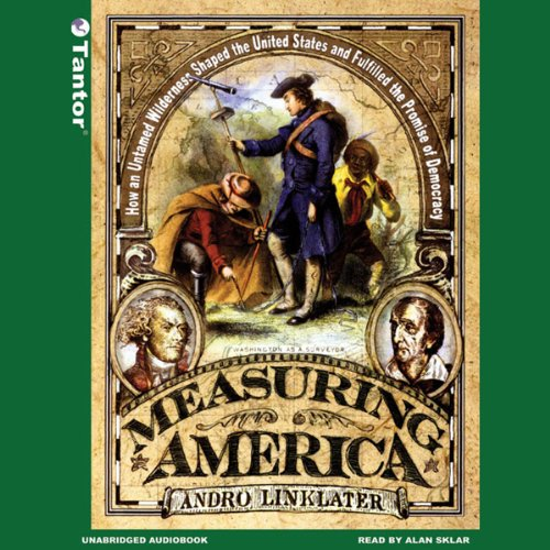 Measuring America audiobook cover art