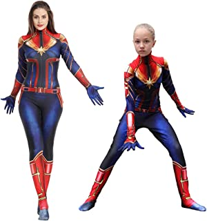 Lycra Lady Bodysuits Halloween Cosplay Costumes Adult/Kids 3D Style