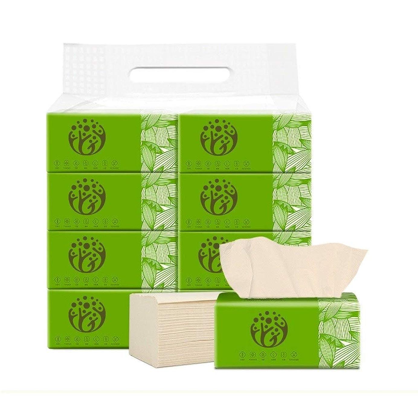 バックアップ降ろすキャンディーWJPWS 天然木材パルプトイレットペーパー、母親と子供に適用、8パック家庭用
