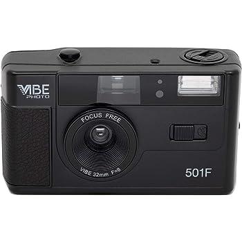 MBE PHOTO フィルムカメラ 35mmDX Film Camera 501F ブラック [並行輸入品]