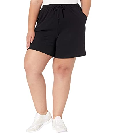 Yummie Plus Size French Terry Shorts with Pocket