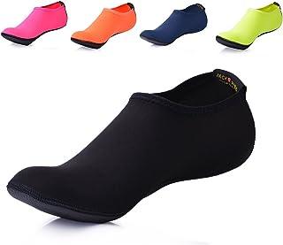 JACKSHIBO Men Women Quick-Dry Water Skin Shoes Aqua Socks Water Sports Swim Surf Yoga Exercice Beach