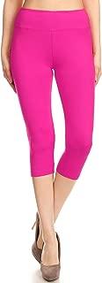 capri leggings pink