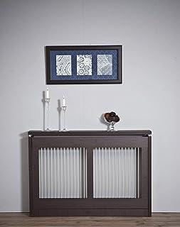 TOP KIT   Cubre radiador Cristian 3120-120 x 84 x 18   Wengué